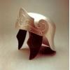 Silver Econo Roman Helmet